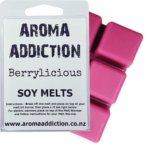 Berrylicious Soy Melt Pack Scented melts Aroma Addiction