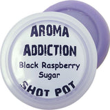 Black Raspberry Sugar Soy Shot Pot Scented melts Aroma Addiction