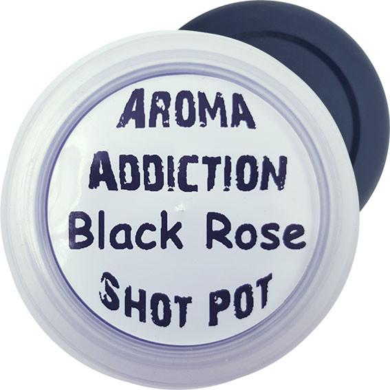 Black Rose Soy Shot Pot