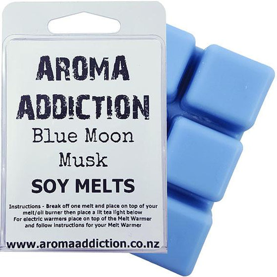 Blue Moon Musk Soy Melt Pack Scented melts Aroma Addiction