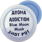 Blue Moon Musk Soy Shot Pot Scented melts Aroma Addiction
