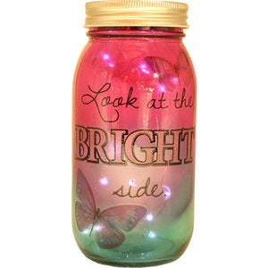 Bright Side Led Jar