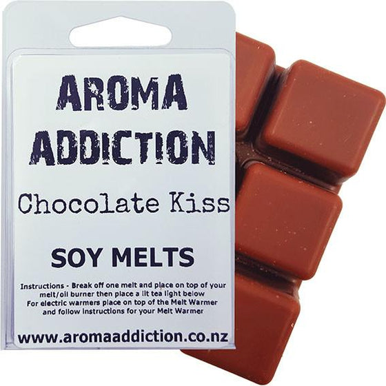 Sale - Chocolate Kiss Soy Melt Pack - Scented melts - Aroma Addiction-