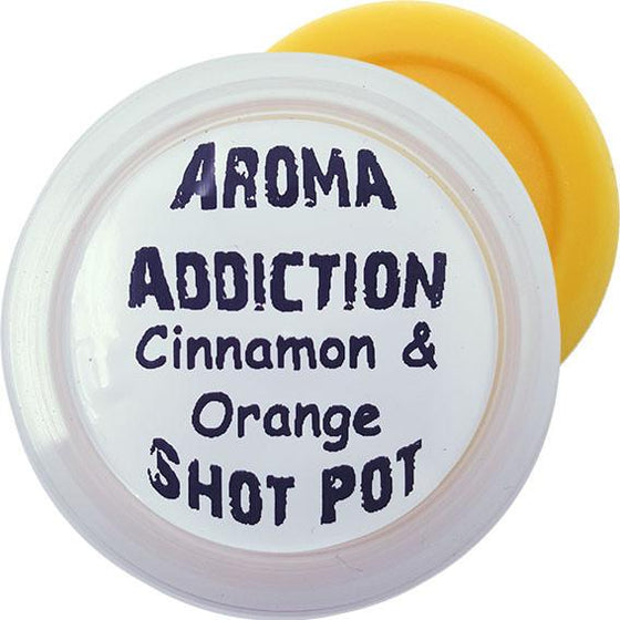 Cinnamon & Orange Soy Shot Pot Scented melts Aroma Addiction