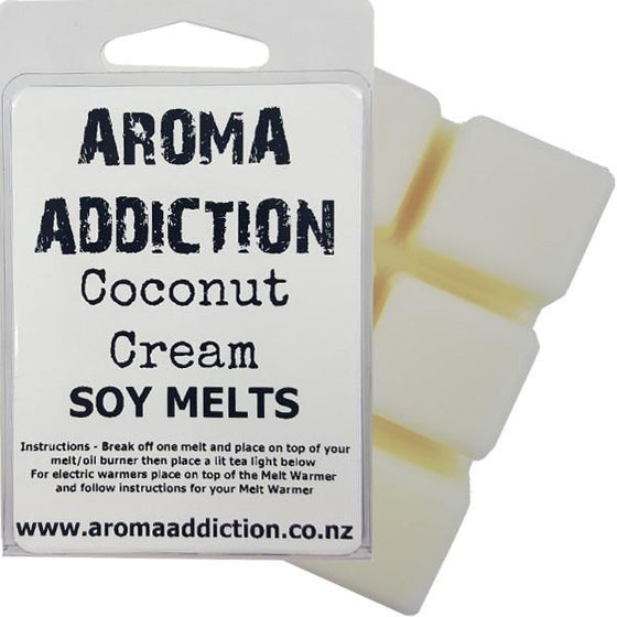 Coconut Cream Scented Soy Melt Pack Scented melts Aroma Addiction