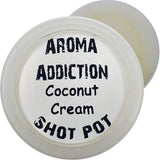 Coconut Cream Soy Shot Pot Scented melts Aroma Addiction