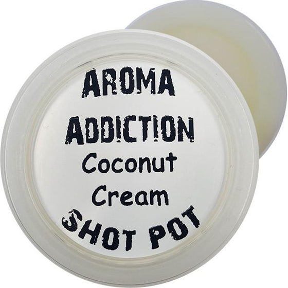 Coconut Cream Soy Shot Pot - Scented melts - Aroma Addiction- - 1