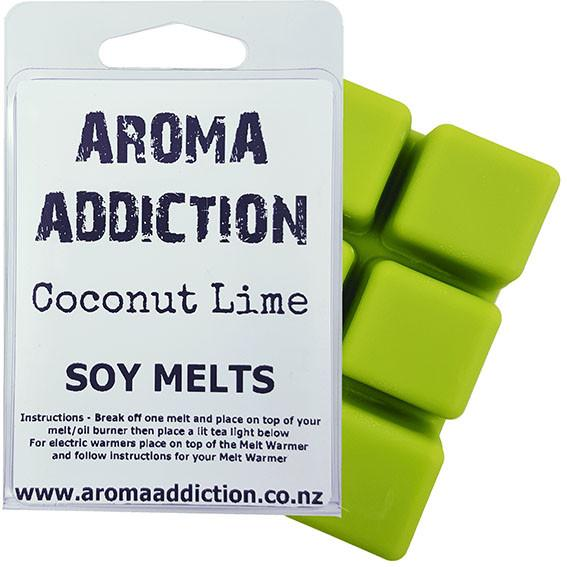 Coconut Lime Soy Melt Pack