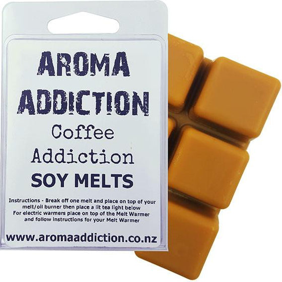 January Sale Coffee Addiction Soy Melt Pack - Scented melts - Aroma Addiction- - 1