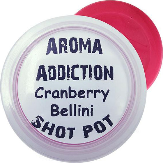 Cranberry Bellini Shot Pot Scented melts Aroma Addiction