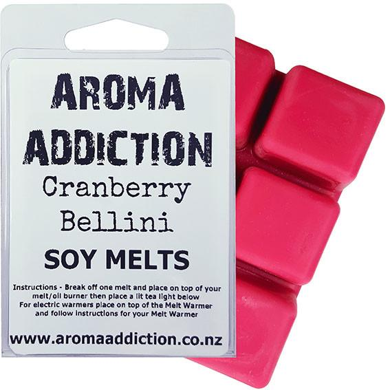 Cranberry Bellini Melt Pack Scented melts Aroma Addiction