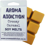 Creamy Caramel Soy Melt Pack Scented melts Aroma Addiction