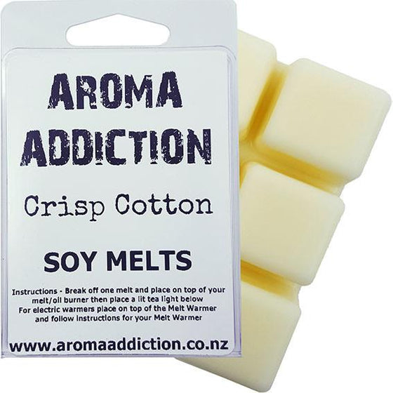 Crisp Cotton Soy Melt Pack Scented melts Aroma Addiction