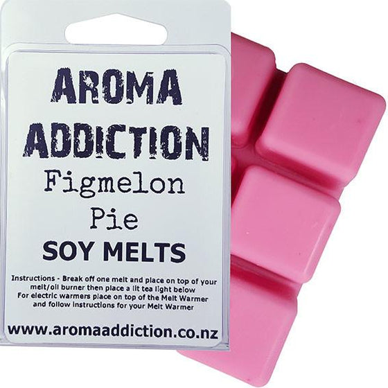 Figmelon Pie Scented Soy Melt Pack Scented melts Aroma Addiction
