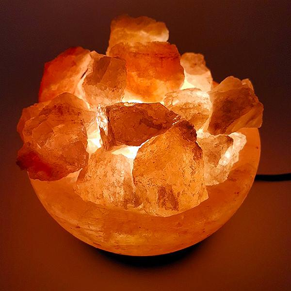 Fire Bowl Himalayan Salt Lamp Aroma Addiction