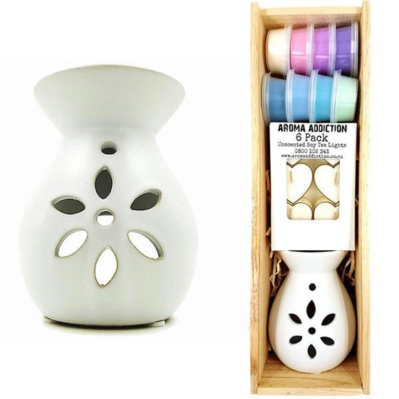 Limited Edition Melt Burner in Wooden Gift Box