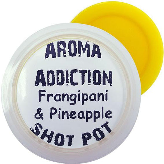 Frangipani and Pineapple Soy Shot Pot Scented melts Aroma Addiction