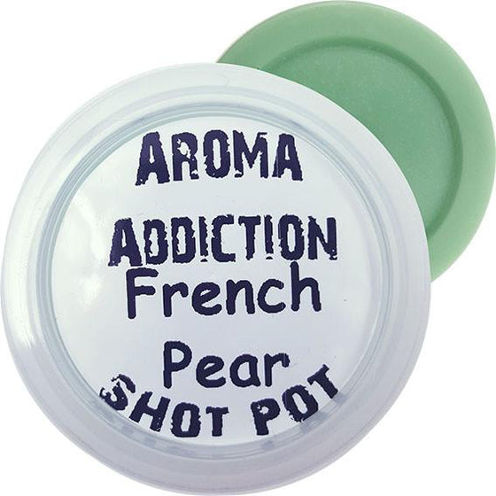 French Pear Soy Shot Pot Scented melts Aroma Addiction
