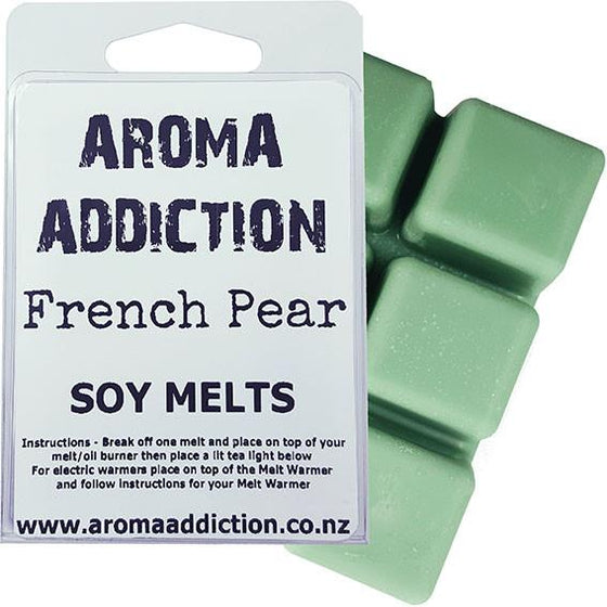French Pear Soy Melt Pack Scented melts Aroma Addiction