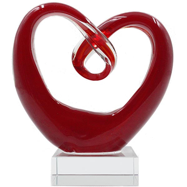 Glass Loop Heart