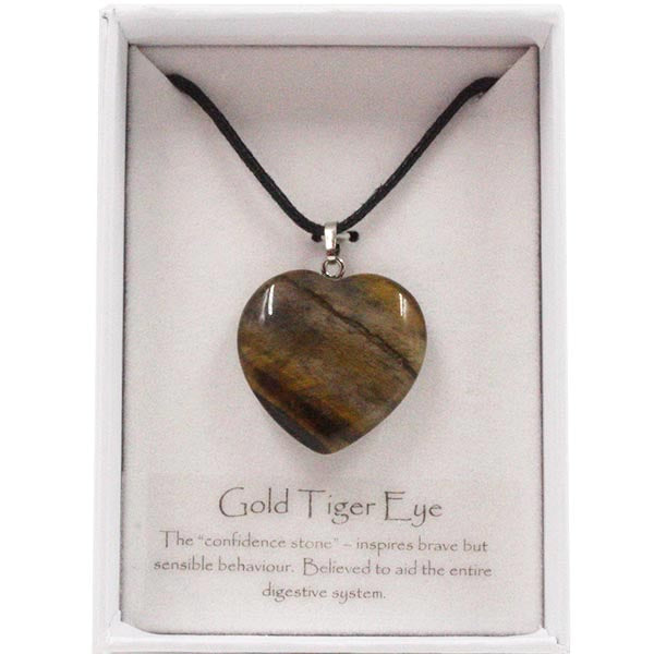 Golden Tiger Eye Crystal Necklace