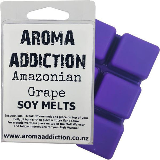 Amazonian Grape Scented Soy Melt Pack Scented melts Aroma Addiction