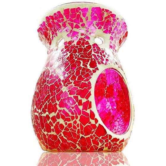 Hot Pink Mosaic Scented Melt Burner