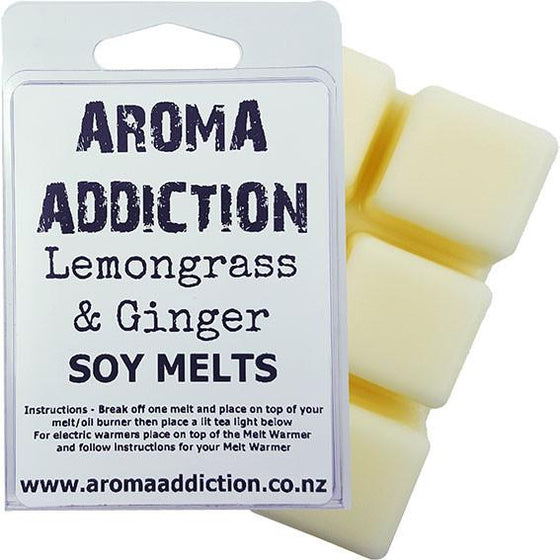 Lemongrass & Ginger Melt Pack Scented melts Aroma Addiction