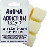Lily & White Rose Soy Melt Pack Scented melts Aroma Addiction