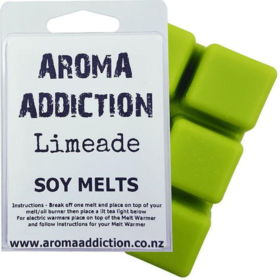 Sale - Limeade Soy Melt Pack Scented melts Aroma Addiction