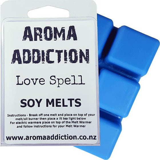 Love Spell Melt Pack Scented melts Aroma Addiction