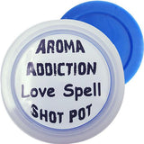 Love Spell Soy Shot Pot Scented melts Aroma Addiction