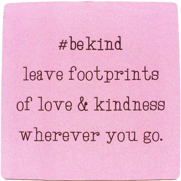 #bekind Inspirational Fridge Magnets