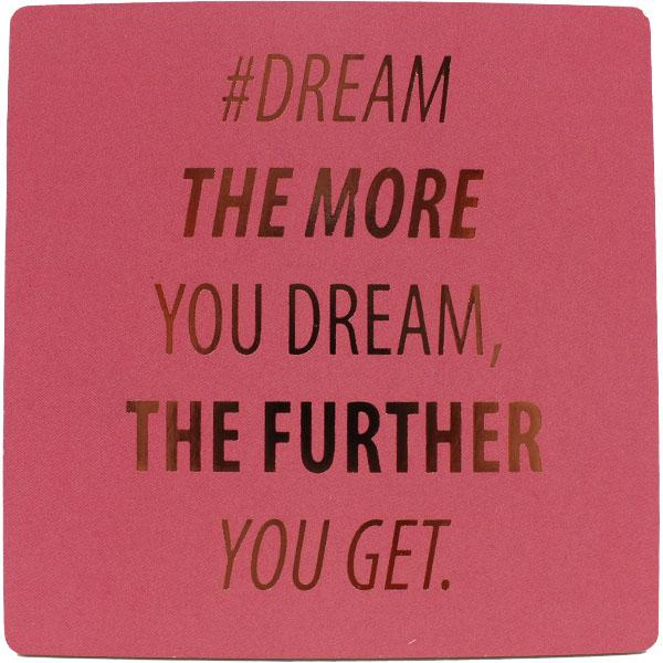 #dream Inspirational Fridge Magnet
