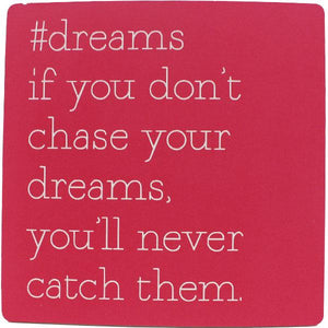 #dreams Inspirational Fridge Magnet gift Aroma Addiction