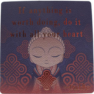 Little Buddha Inspirational Fridge Magnet #2 gift Aroma Addiction