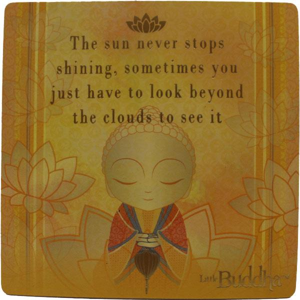 Little Buddha Inspirational Fridge Magnet #4