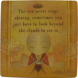 Little Buddha Inspirational Fridge Magnet #4 gift Aroma Addiction