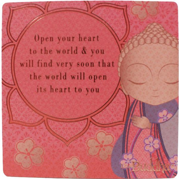 Little Buddha Inspirational Fridge Magnet #5
