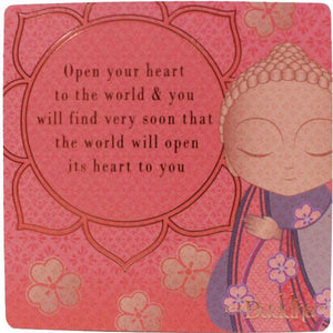 Little Buddha Inspirational Fridge Magnet #5 gift Aroma Addiction