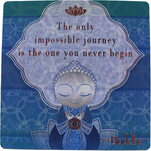 Little Buddha Inspirational Fridge Magnet #6 gift Aroma Addiction