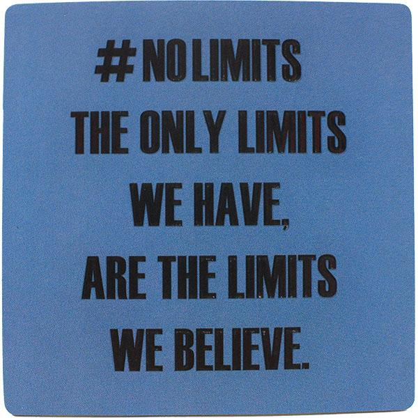 #nolimits Inspirational Fridge Magnet