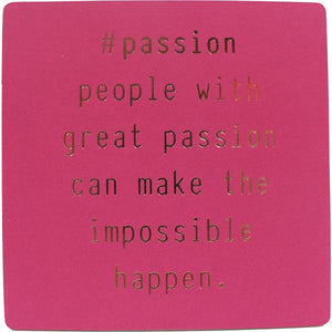 #passion Inspirational Fridge Magnet gift Aroma Addiction