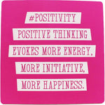 #positivity Inspirational Fridge Magnet