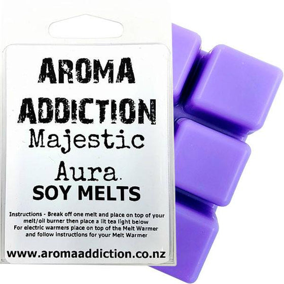 Majestic Aura Scented Soy Melt Pack