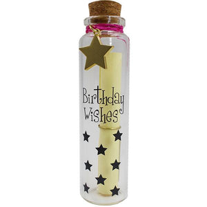 Personalized Message in A Bottle - Birthday Wishes gift Aroma Addiction