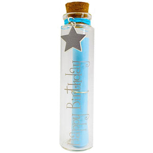Personalized Message in A Bottle - Happy Birthday gift Aroma Addiction