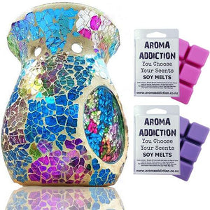 Over The Rainbow Mosaic Melt Burner Melt Pack Combo melt burners Aroma Addiction
