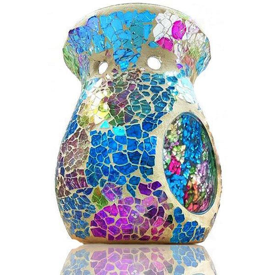 Over The Rainbow Mosaic Scented Melt Burner