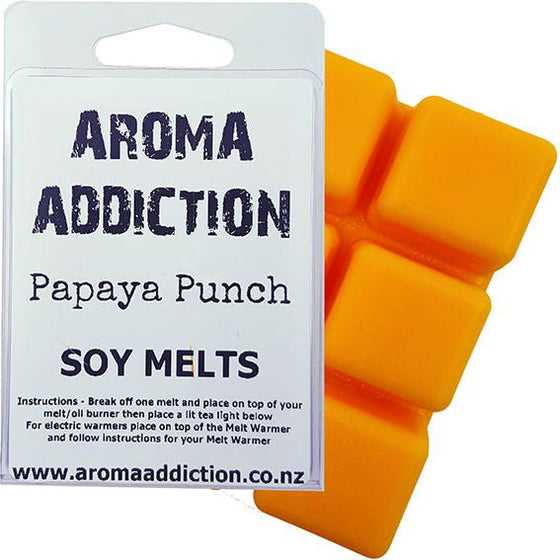 Papaya Punch Soy Melt Pack Scented melts Aroma Addiction
